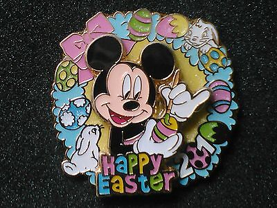 2010 MICKEY MOUSE PAINTING EASTER EGG LE HAPPY EASTER DISNEY PIN-ON-PIN DESIGN