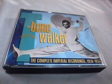 T-BONE WALKER-THE COMPLETE IMPERIAL RECORDINGS 1950-1954 EMI FATBOX CD 2 Discs