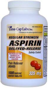 Generic-Ecotrin-Adult-Regular-Strength-Enteric-Coated-325mg-Aspirin-1000-Tablets