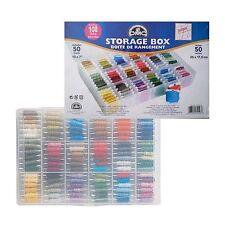 DMC STORAGE BOX FOR 108 SKIENS WITH 50 FREE BOBBIN CARDS 6118 FREE UK POSTAGE