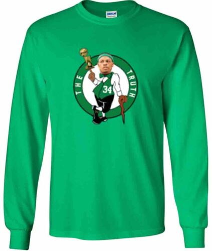 "Paul Pierce Boston Celtics /""LOGO/"" T-shirt Shirt or Long Sleeve"