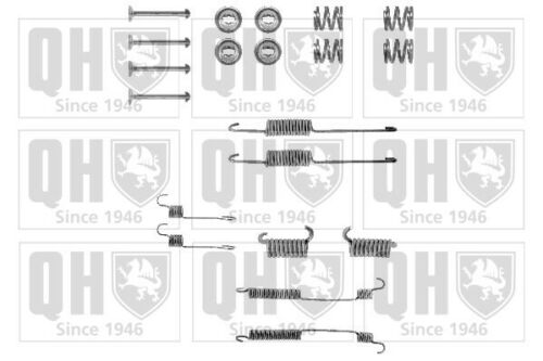 Brake Shoe Fitting Kit fits FORD ESCORT Mk2 1.3 Rear 80 to 81 QH Quality New