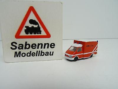 Bello Autocostruzione Spur N 1/160 Pezzo Unico Ambulanze A Pompieri Mb Top C429-mostra Il Titolo Originale