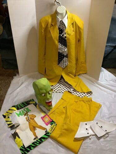 Jim Carrey THE MASK Suit Original 1994 Latex Mask