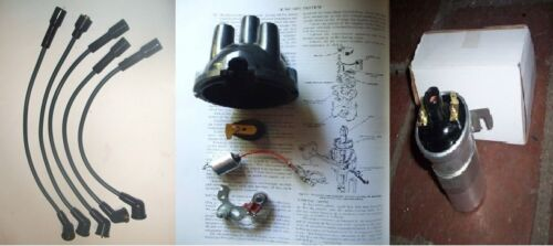 TRIUMPH Herald   Cap Points Rotor Arm Condenser Leads Coil IGNITION KIT 59-71