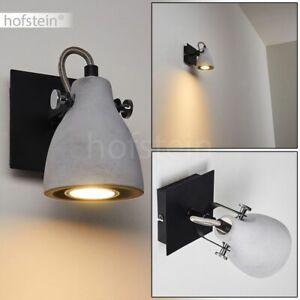 Wohn Schlaf Zimmer Leuchten schwarz Wand Lampen Flur Dielen Strahler verstellbar