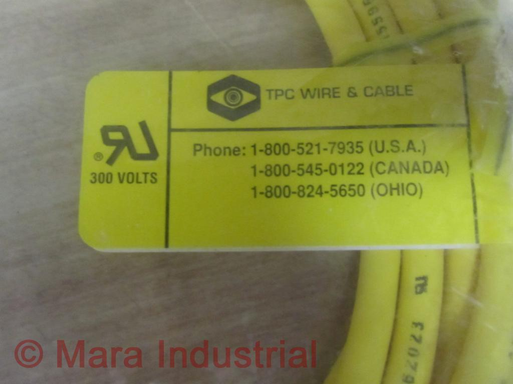 T.P.C. Wire & Cable 64312 Cable Female 4M 300V - 5 Pin (Pack of 3 ...