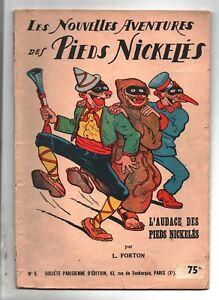 FORTON-L-039-audace-des-Pieds-Nickeles-Album-n-6-SPE-1949-prix-75-fr