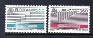 Capable France Neuf Sans Charnière 1988 Sg2828-2829 Europa