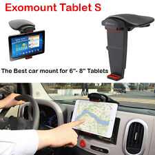 "Exogear Exomount Tablet S 6-8"" Dash Car Mount Holder iPad Mini Samsung tab 7 etc"