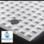 Grid-Divider-Tray-Egg-Crate-Aquarium-Fish-Tank-Filter-Bottom-Isolate-WHITE-X-2 thumbnail 4