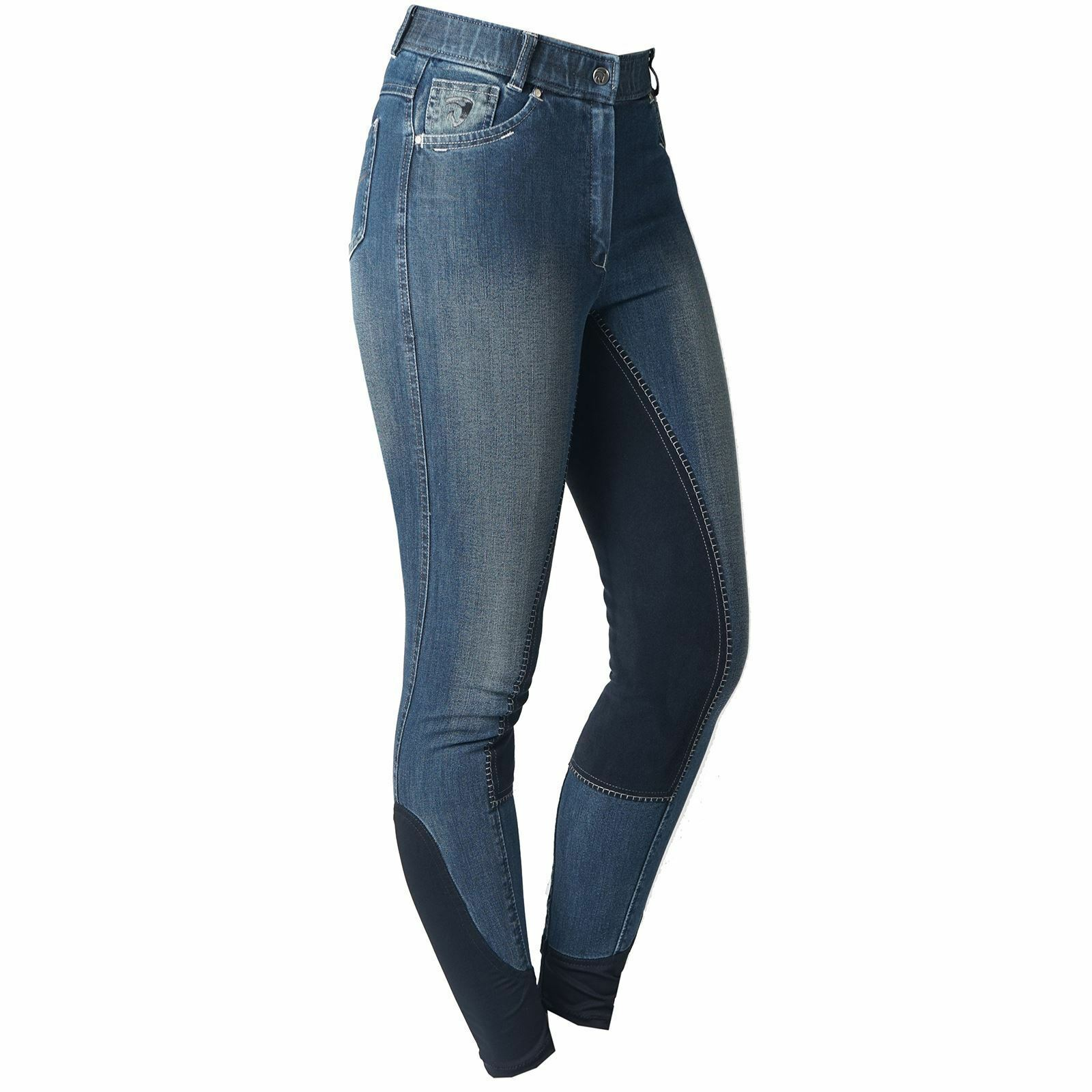 Horka Riga Ladies Horse Riding Fashionable Full Leather Seat Country Breeches