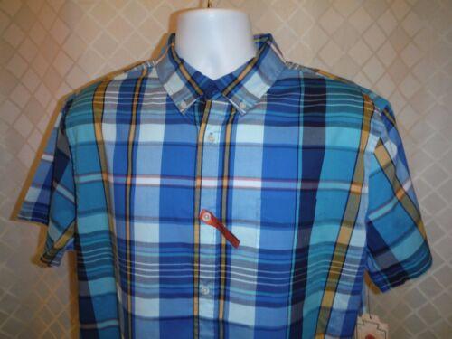 Short Sleeve Full Button Front Men/'s Shirts 2XL,XL,L,Urban Pipeline Multi color