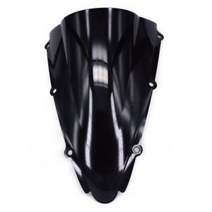 Black ABS Windshield Windscreen Screen For YZFR1 2000 2001 On Road Motorcycle