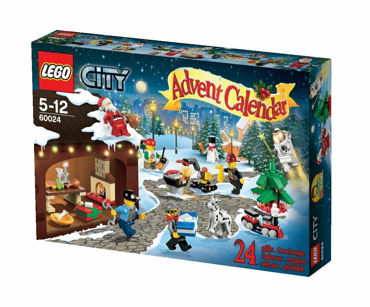 Lego City 60024 Adventskalender Weihnachten