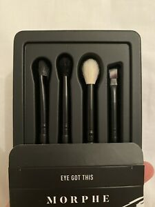 Morphe Brushes Eye Got This 4 Piece Eye Brush Collection Makeup Beauty Original Ebay Great savings & free delivery / collection on many items. ebay