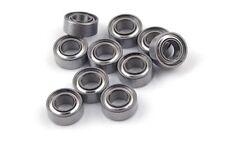 10x Premium 4x11x4 Metal Shield Rc Miniature Ball Bearing Metric Hopup Heli Toy