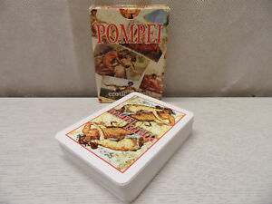 54 Carte Da Gioco Francesi Pompei Erotic Secrets Gioco Di Carte Patinate Moc