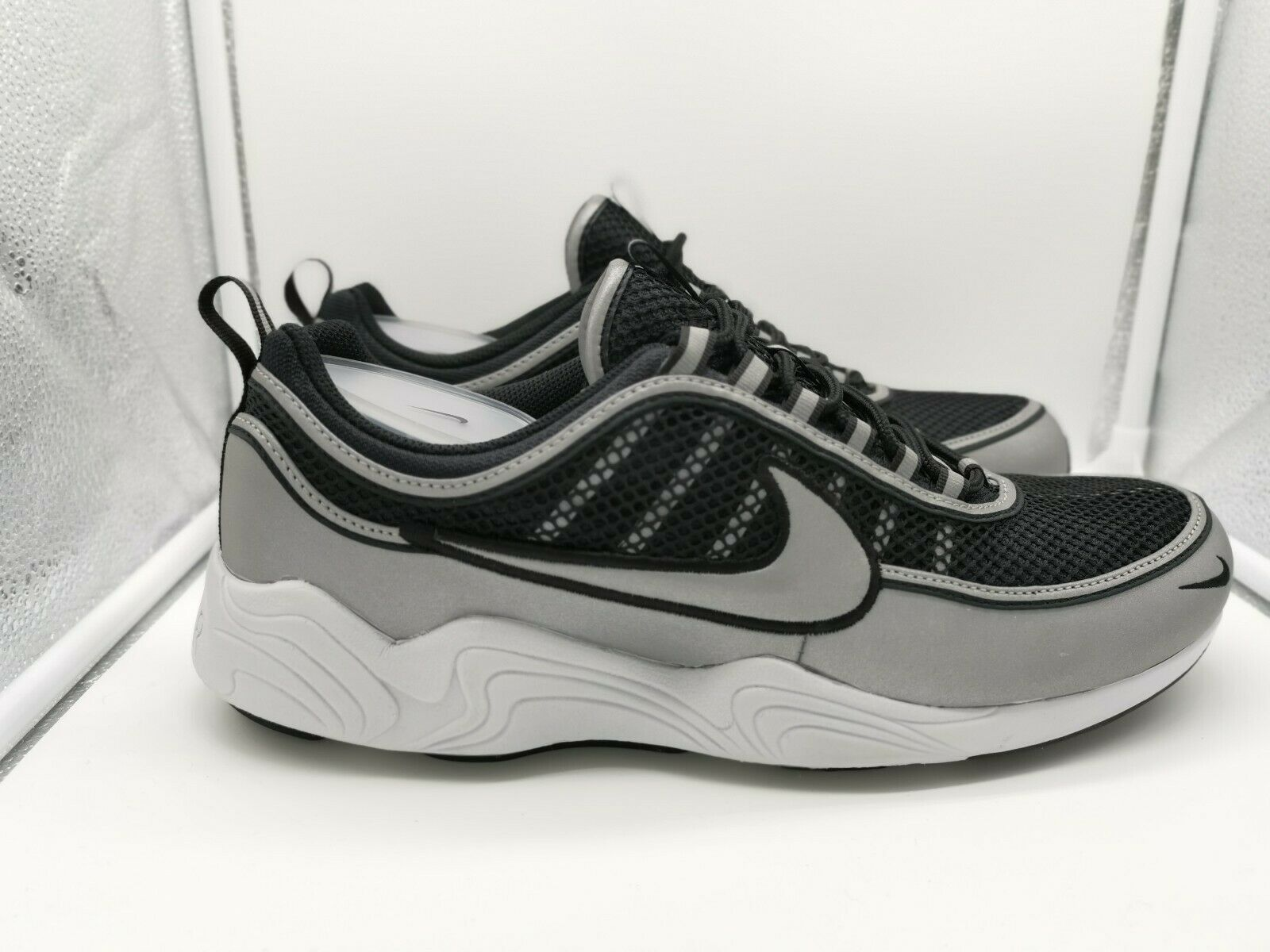 Nike Air Zoom Spiridon '16 Black Metallic Silver 926955-003 926955-003 926955-003 8d1eb8