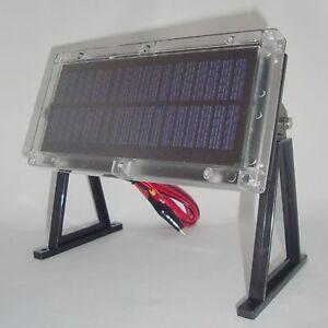 6volt weatherproof solar panel game deer feeder camera 6v