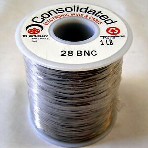 0.022 Dia. 23//24 AWG Eisco Labs Chromium Resistance Wire 24 Gauge SWG 250ft Reel