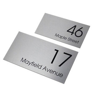 CUSTOM-400-x-200-Street-Name-HOUSE-SIGN-PERSONALISED-Address-PLAQUE-House-NUMBER