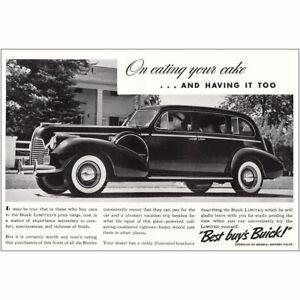 "Magazine Advertisement for 1940 Buick Townmaster Sedan; 7/"" x 10/"""