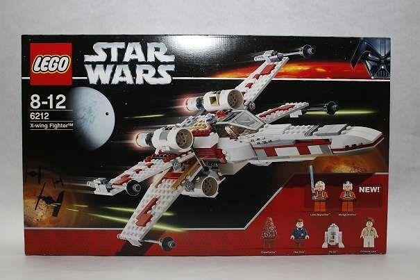 LEGO StarWars X-Wing Fighter 6212 mit 6 Minifiguren