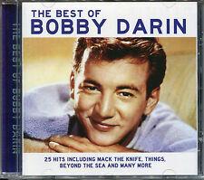 THE BEST OF BOBBY DARIN CD - MACK THE KNIFE, DREAM LOVER & MORE