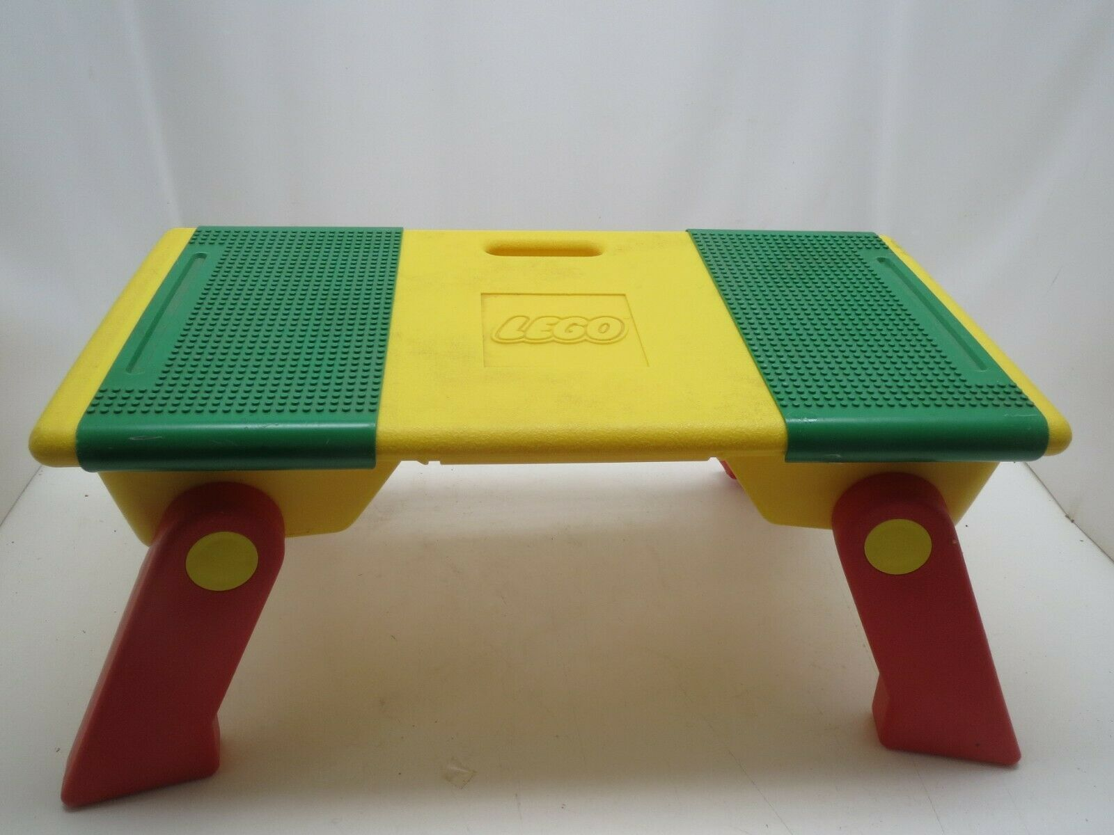 Vintage Lego Portable Activity Table Folding Legs Storage Bins 1994 - Nice