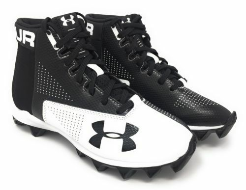 3877140d8 Under Armour Renegade RM Football Shoes Size 12 Black 1289762 011 ...