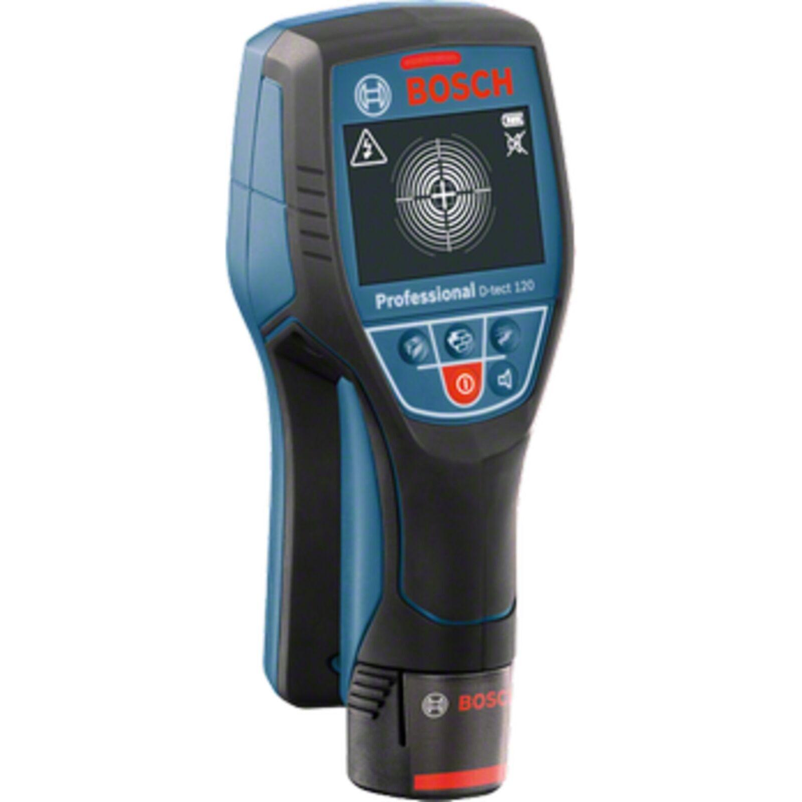 Bosch Professional Ortungsgerät Wallscanner D-tect 120 Professional, blau