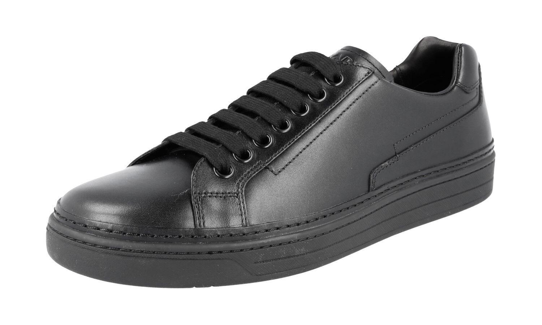 Nouveaux 45 Chaussures Luxueux 11 4e2831 Noir Prada 45 5 F6AxEqxX