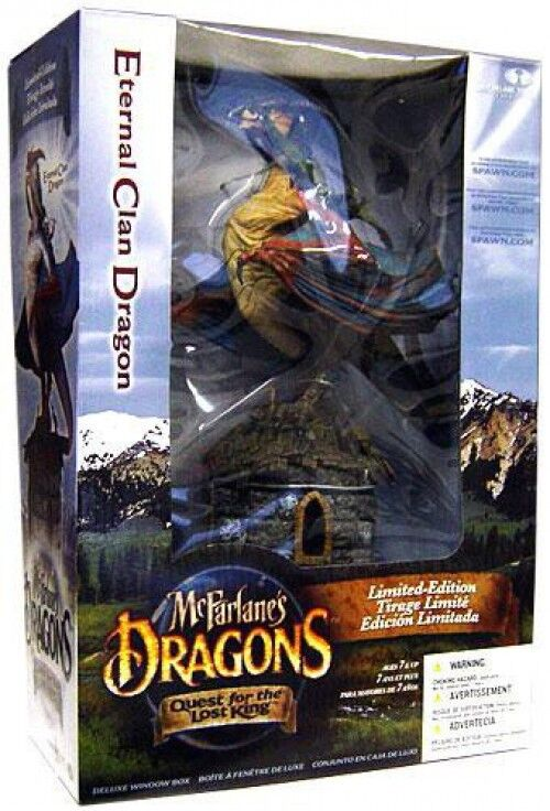 Dragons Quest for the  Lost re Eternal Clan Dragon azione cifra Set [Repaint]  negozio online outlet