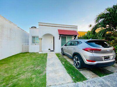 Casa en venta en Cancun con 2 recamaras con seguridad 24 hrs