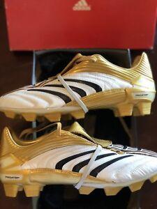 Adidas Predator 2006 World Cup White Gold Black Absolute TRX FG Size ... 73558f0df698