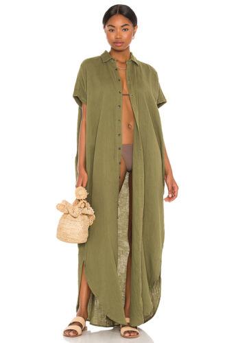 Acacia Swimwear Oahu Cotton Gauze dress duster cov