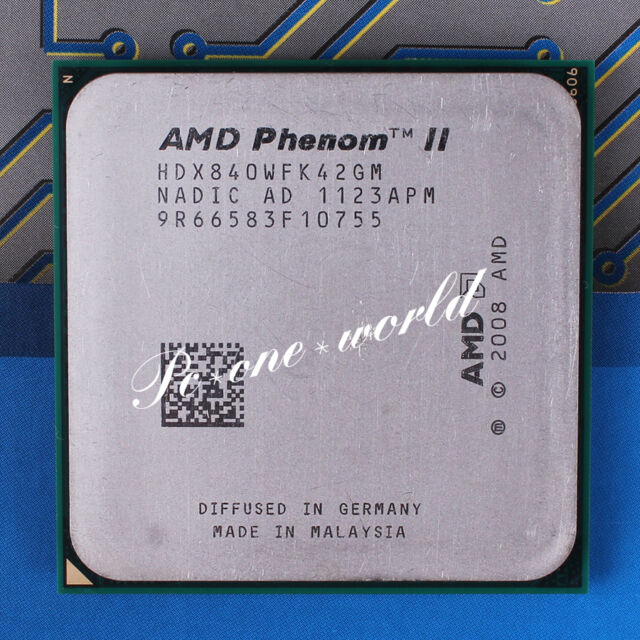 100% OK HDX840WFK42GM AMD Phenom II X4 840 3.2 GHz Quad-Core Processor CPU