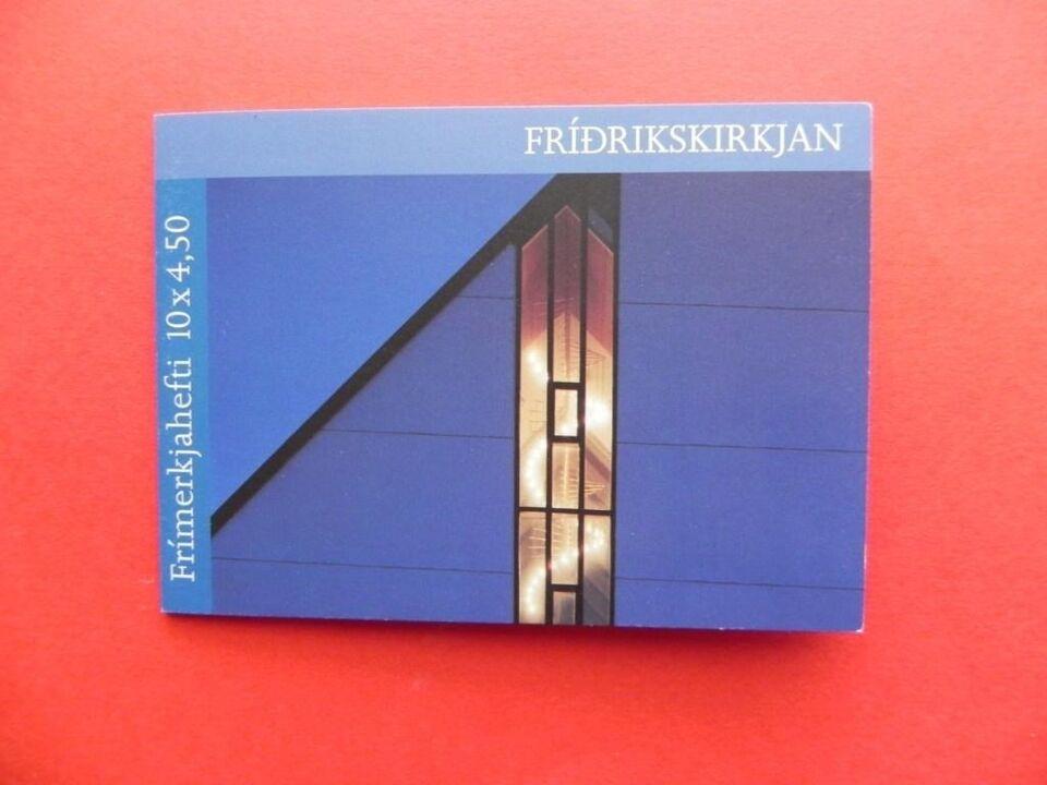 Færøerne, stemplet, Frimærkehefte A16
