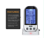 UK-Digital-Wireless-Barbecue-BBQ-Meat-Thermometer-Remote-Grill-Cooking-Kit-NEW thumbnail 7