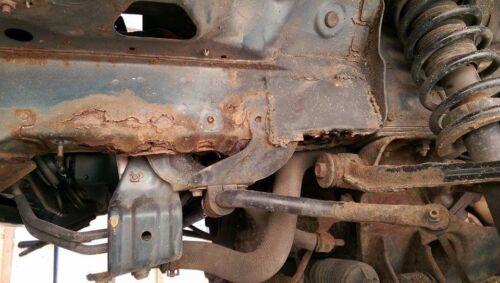 LH Mazda MX5 Chassis rail repair panel