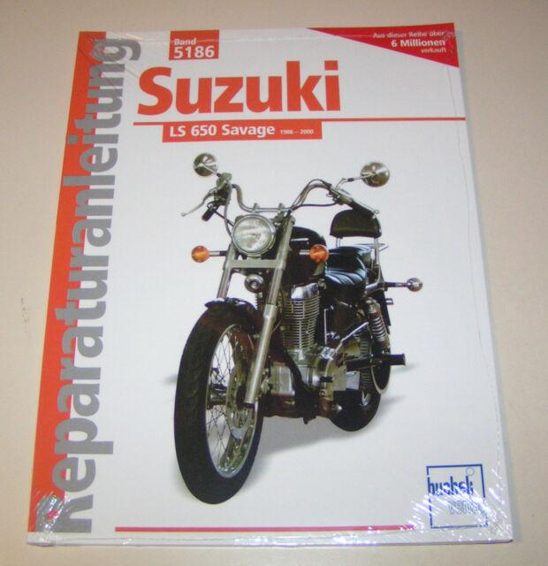 Manual de Reparación Suzuki Ls 650 Salvaje - Año de Fabricación 1986 Hasta 2000