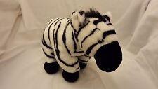 "Zebra soft toy plush by Cuddlekins Wild republic 11"" 28cm"