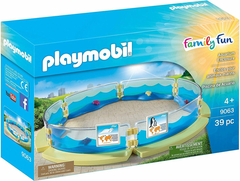 Playmobil Family Fun Aquarium Enclosure 9063