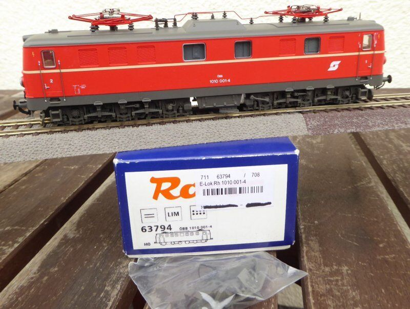 Roco 63794 h0 electric locomotive rh 1010 001-4 öbb ep.4 5 with DSS, very good