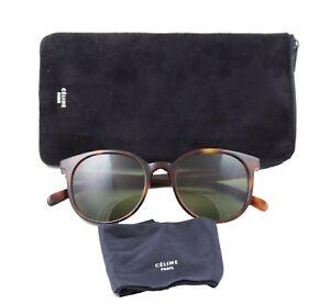 01f9745238 Celine CL41067 s Thin Mary Sunglasses Cat-eye Tortoise Havana Frame ...