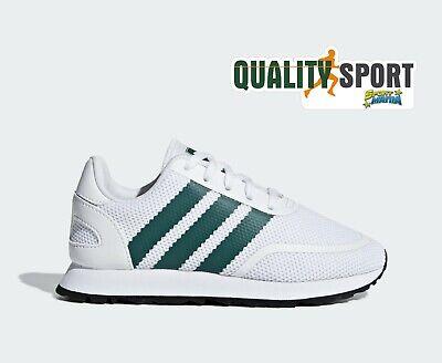Adidas N 5923 Bianco Verde Scarpe Shoes Bambino Sportive Sneakers CG6963 2019 | eBay