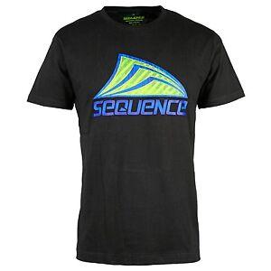Sequence-Metalico-Camiseta-Hombre-Negro-Camiseta-en-Playa-Surf-Look