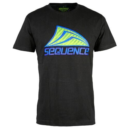 Sequence métallique T-shirt hommes noir-shirt au Beach Surf Look