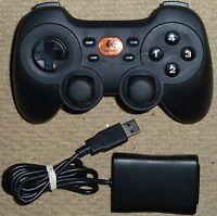 LOGITECH PC CORDLESS RUMBLE PAD 2 WIRELESS DUAL ANALOG GAMEPAD CONTROLLER USB